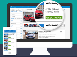 Auto Trader price indicator icon