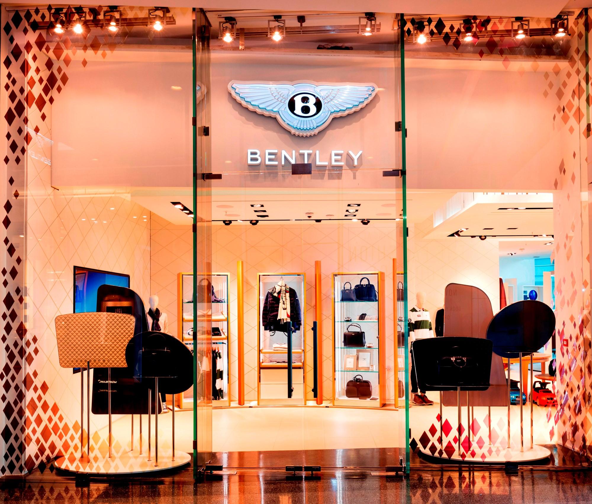 Bentley Opens Westfield Luxury Studio With 'emotional