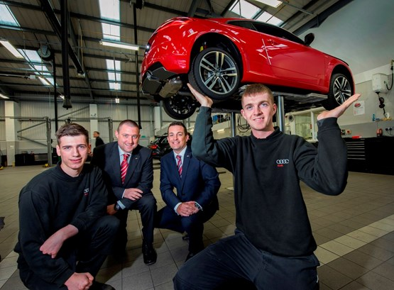 Car Dealer Jct600 Looks For Record Number Of Apprentices