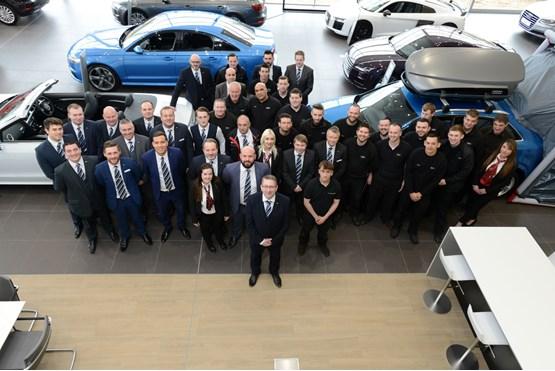 Jct600 Completes Development Of Energy Efficient Audi Dealership In