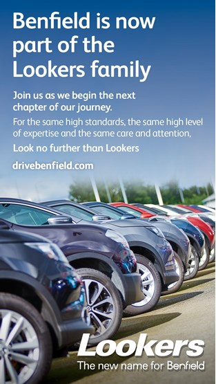 Lookers rebrands its Benfield sites in 2016