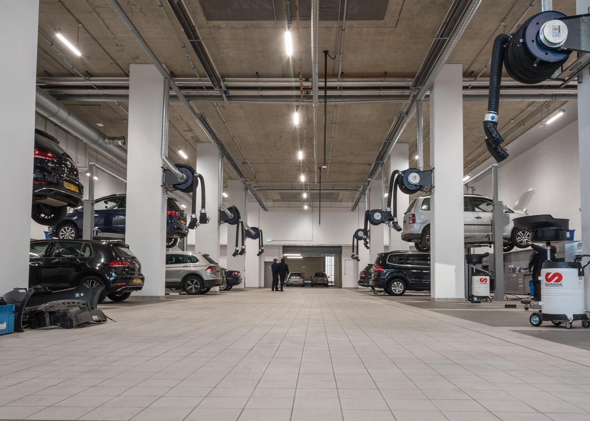 Lookers Volkswagen Opens New £10m Battersea Showroom