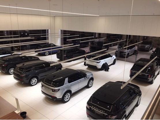 marshall opens jaguar land rover centre in ipswich car. Black Bedroom Furniture Sets. Home Design Ideas