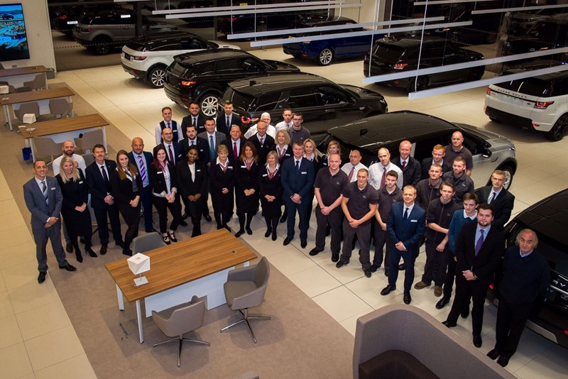 Marshall Opens Jaguar Land Rover Centre In Ipswich Car Dealer News