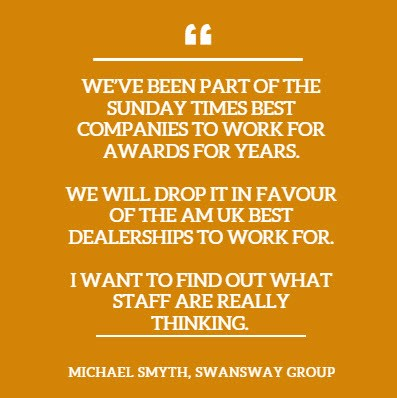 AM Best Dealerships To Work For Michael Smyth quote