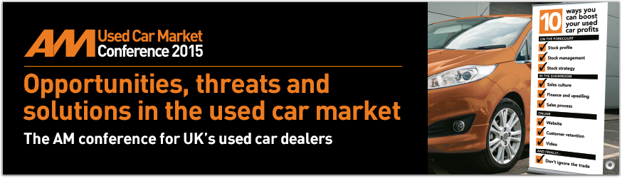 AM Used Car Conference 2015 banner