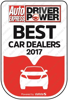 Driver Power Best Car Dealers 2017 logo