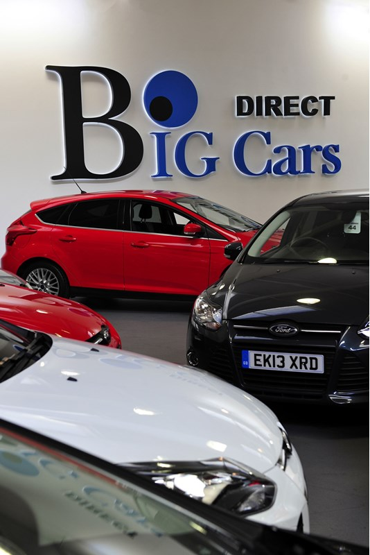 Big Cars Essex showroom