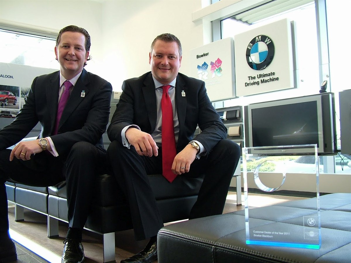 Bowker of Blackburn is BMWs National Customer Dealer of the Year