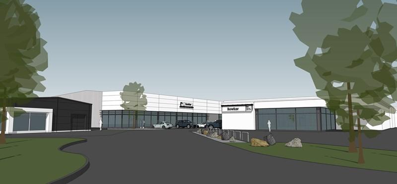 Bowker aftersales centre Preston 2016