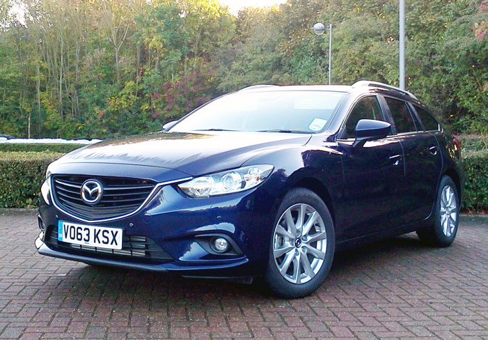 Mazda 6 Estate Car Review Month Four Long Term