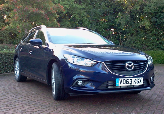 Mazda 6 Estate Car Review Month Four Long Term