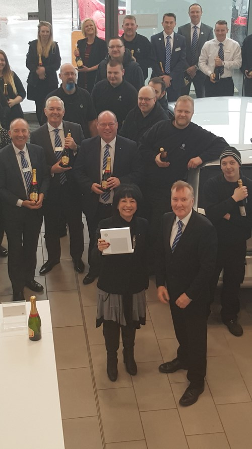 Wigan Volkswagen Dealer Wins Service Award Car Dealer News