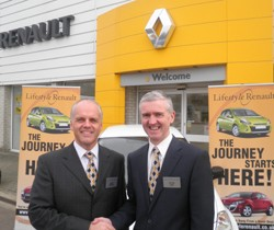 Marc Matthew, chairman and Peter Isted managing director of Lifestyle Europe