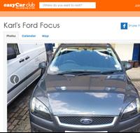 Ford Credit easyCar car share 2015