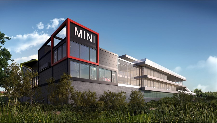 Cotswold Motor Group: visuals for planned Mini and BMW ...