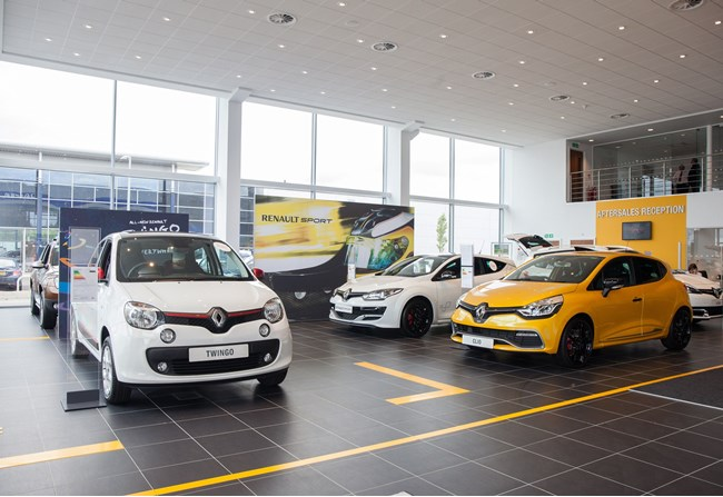 Motorline Renault Dacia Maidstone 2015 Pictures