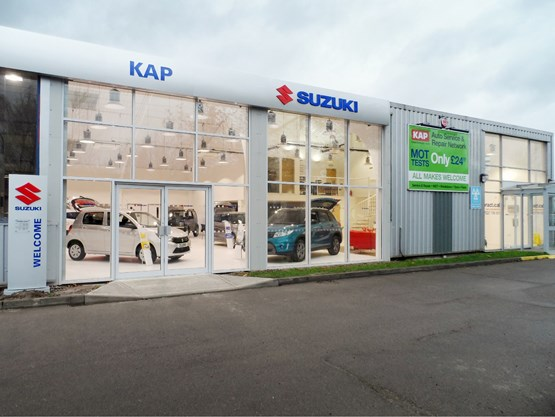 kap motor group opens suzuki 39 s 155th uk dealership car dealer news. Black Bedroom Furniture Sets. Home Design Ideas