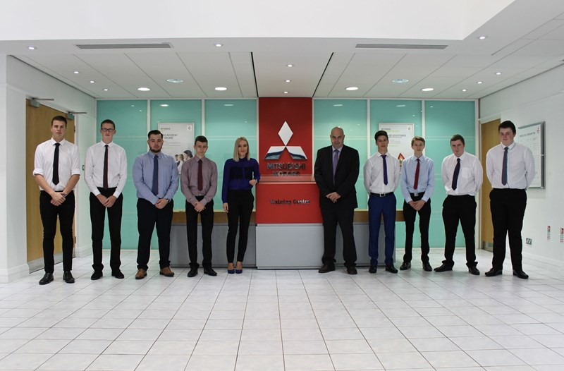 Mitsubishi dealer apprentices 2016