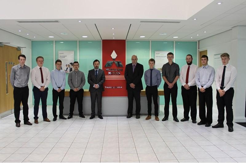 Mitsubishi dealer apprentices 2016