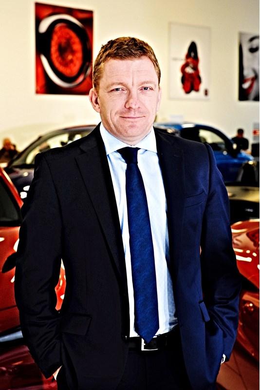Jon Pochin, managing director, Motorvogue