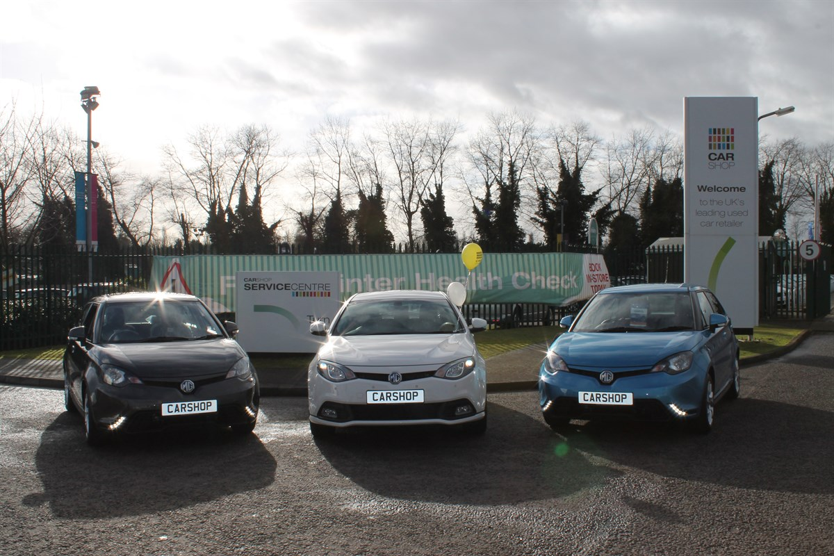Used Car Supermarket Takes On MG Franchise