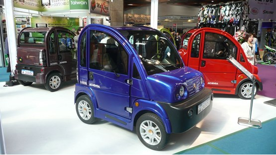 Taiwanese Lightweight Electric Cars Destined For Uk Market Car