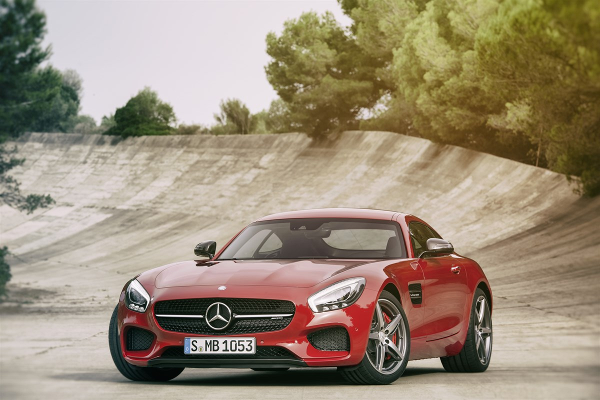 First Pictures Amg Gt To Become Mercedes Benz S Flagship Car
