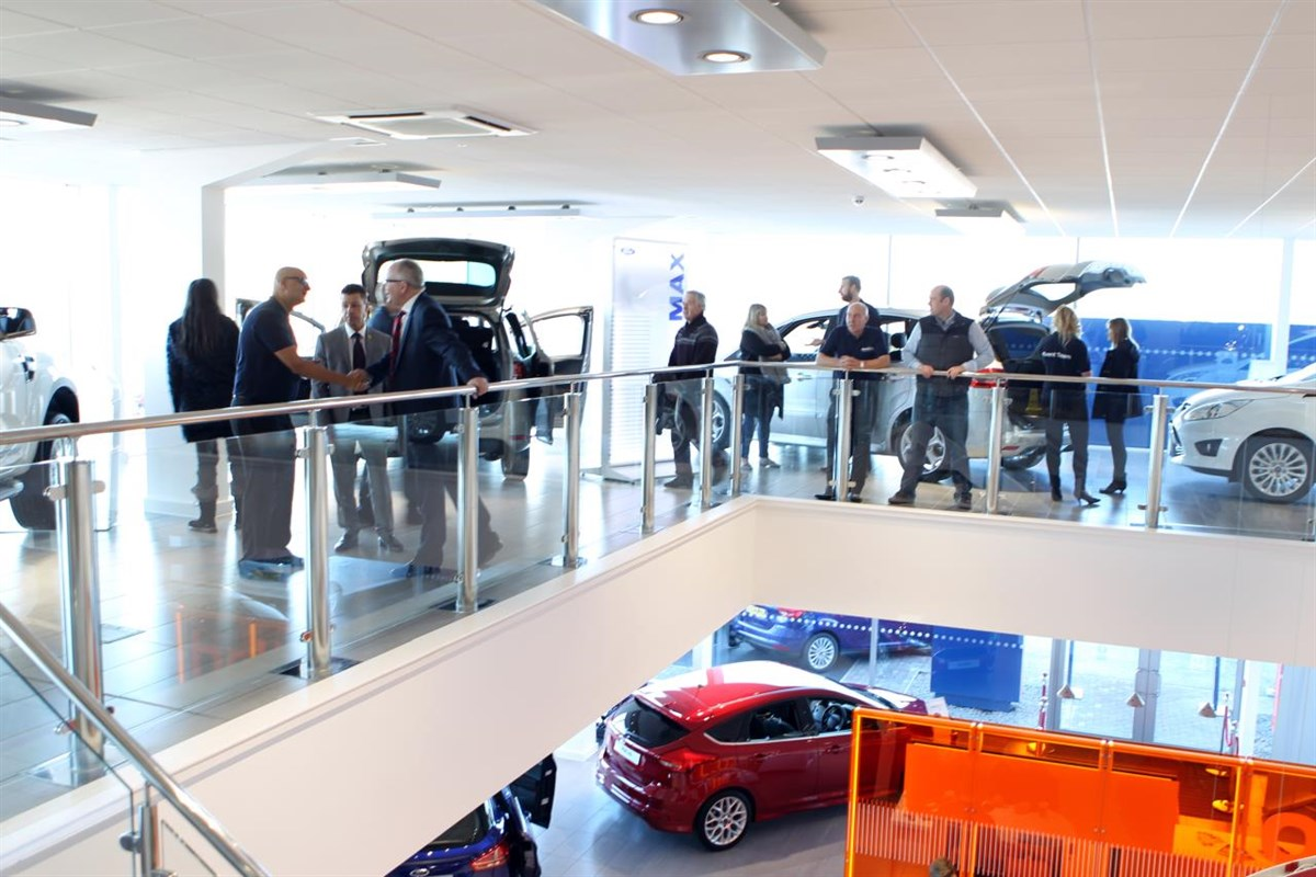 Car Dealer Sandicliffe Opens £15m Ford Store In Leicester
