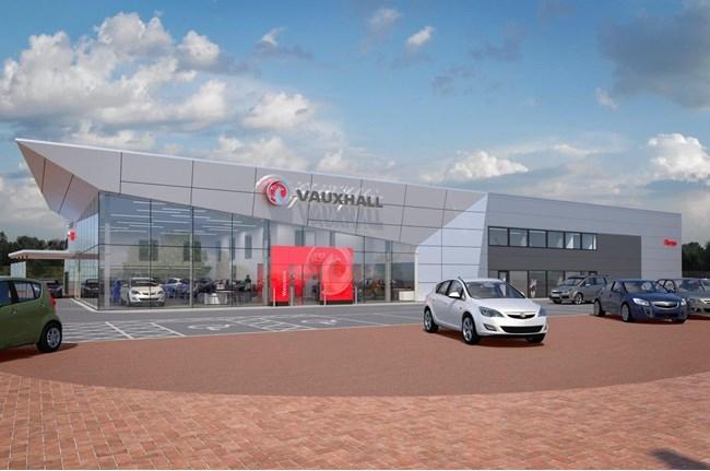 car dealer perrys begins work on multi million pound preston dealership. Black Bedroom Furniture Sets. Home Design Ideas