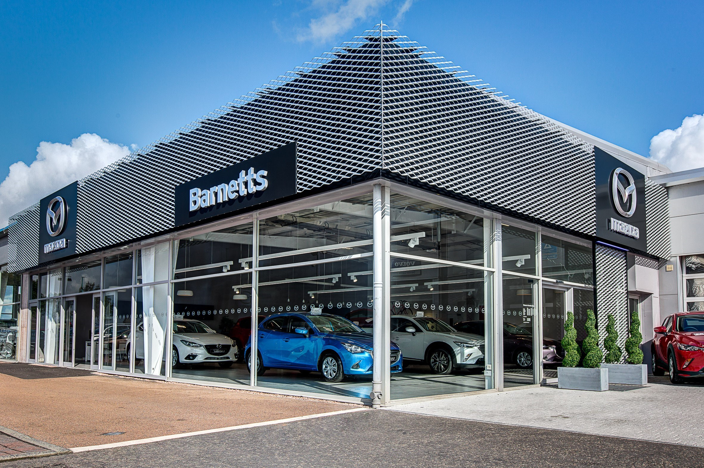 Barnetts Claims A First With New Mazda Showroom Style