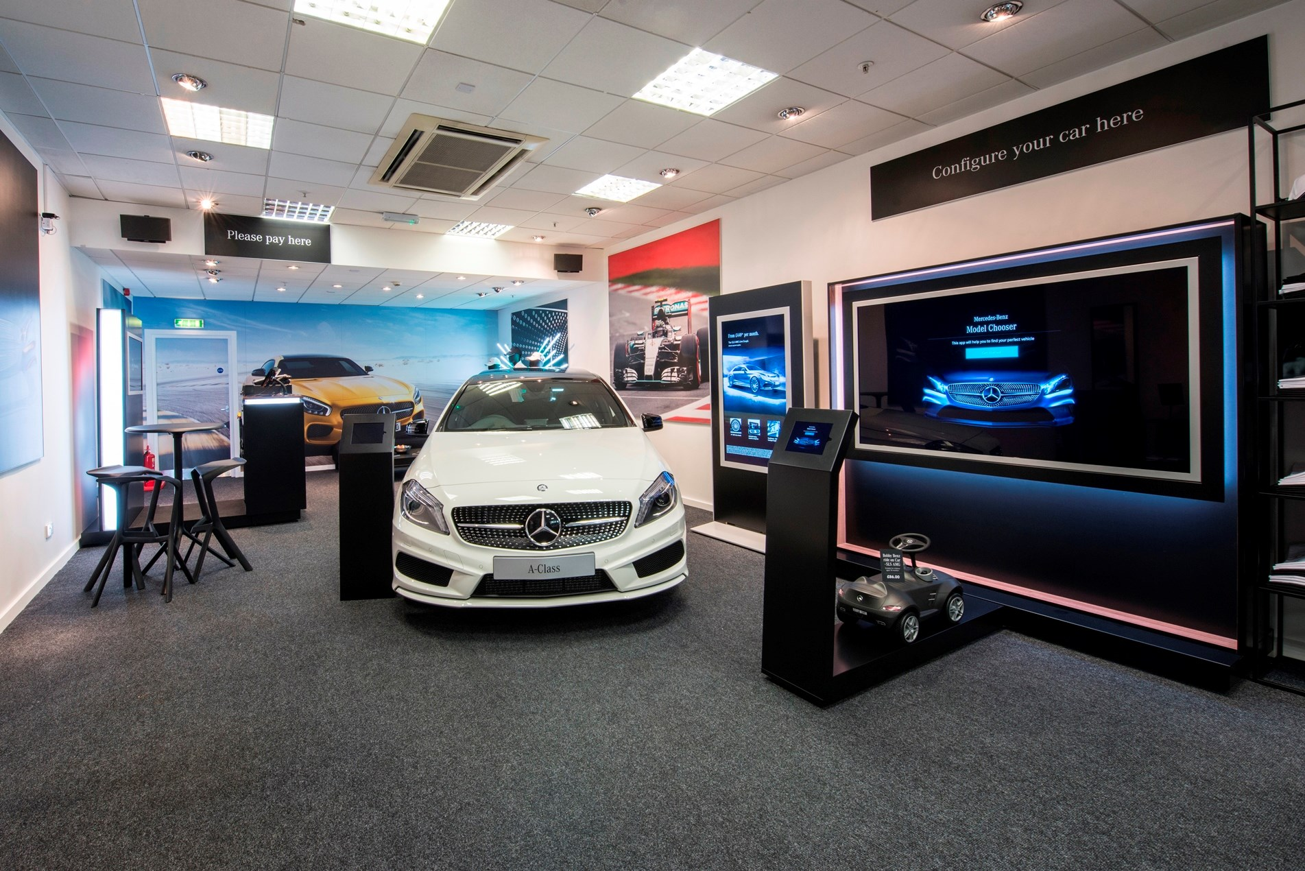 Car Dealers Birmingham >> Mercedes-Benz Retail dealers open pop-up store in ...