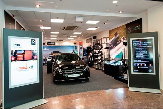 Mercedes Benz Retail Dealers Open Pop Up Store In