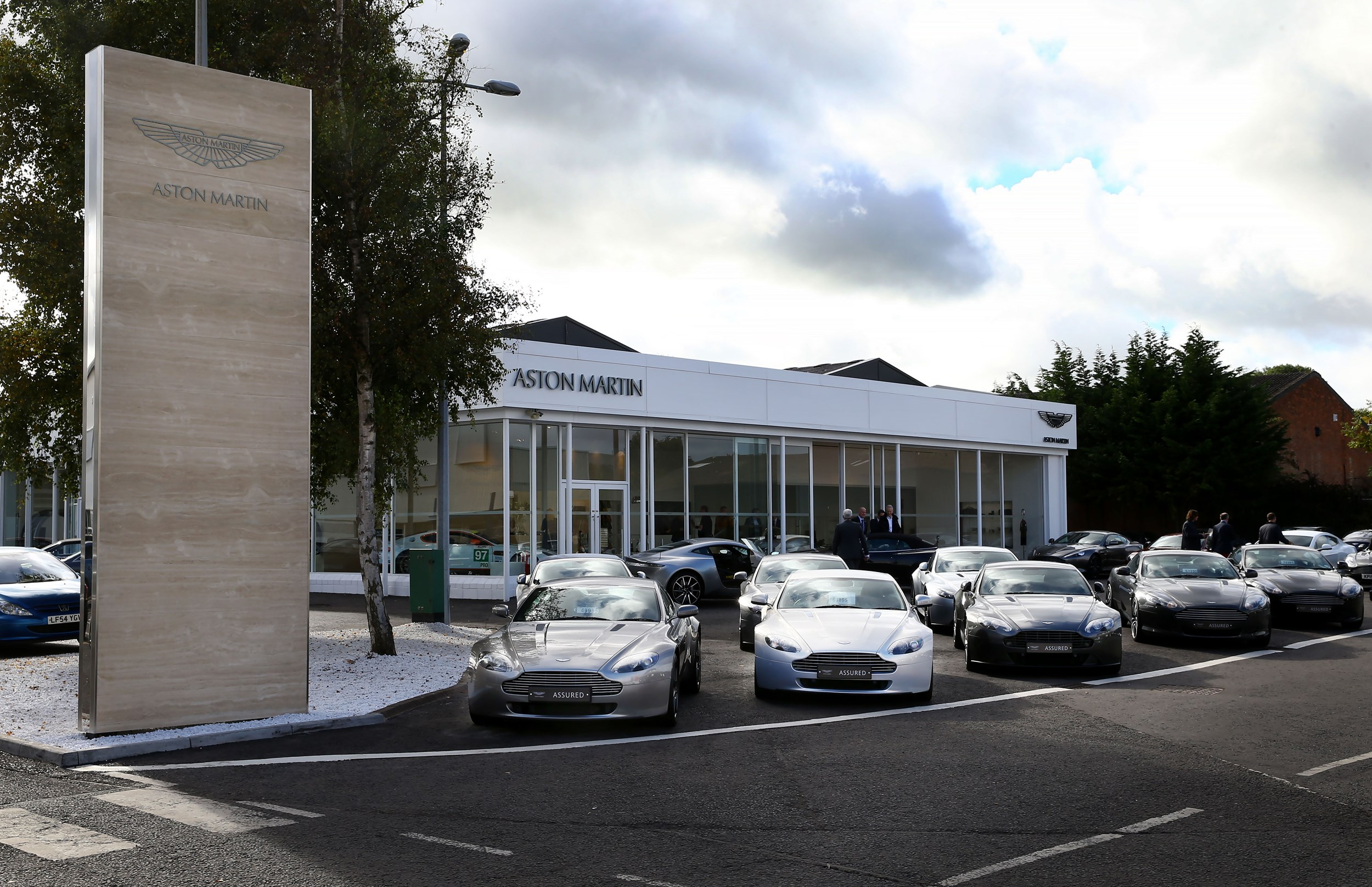 Northern Ireland Car Dealer Charles Hurst Opens New Aston