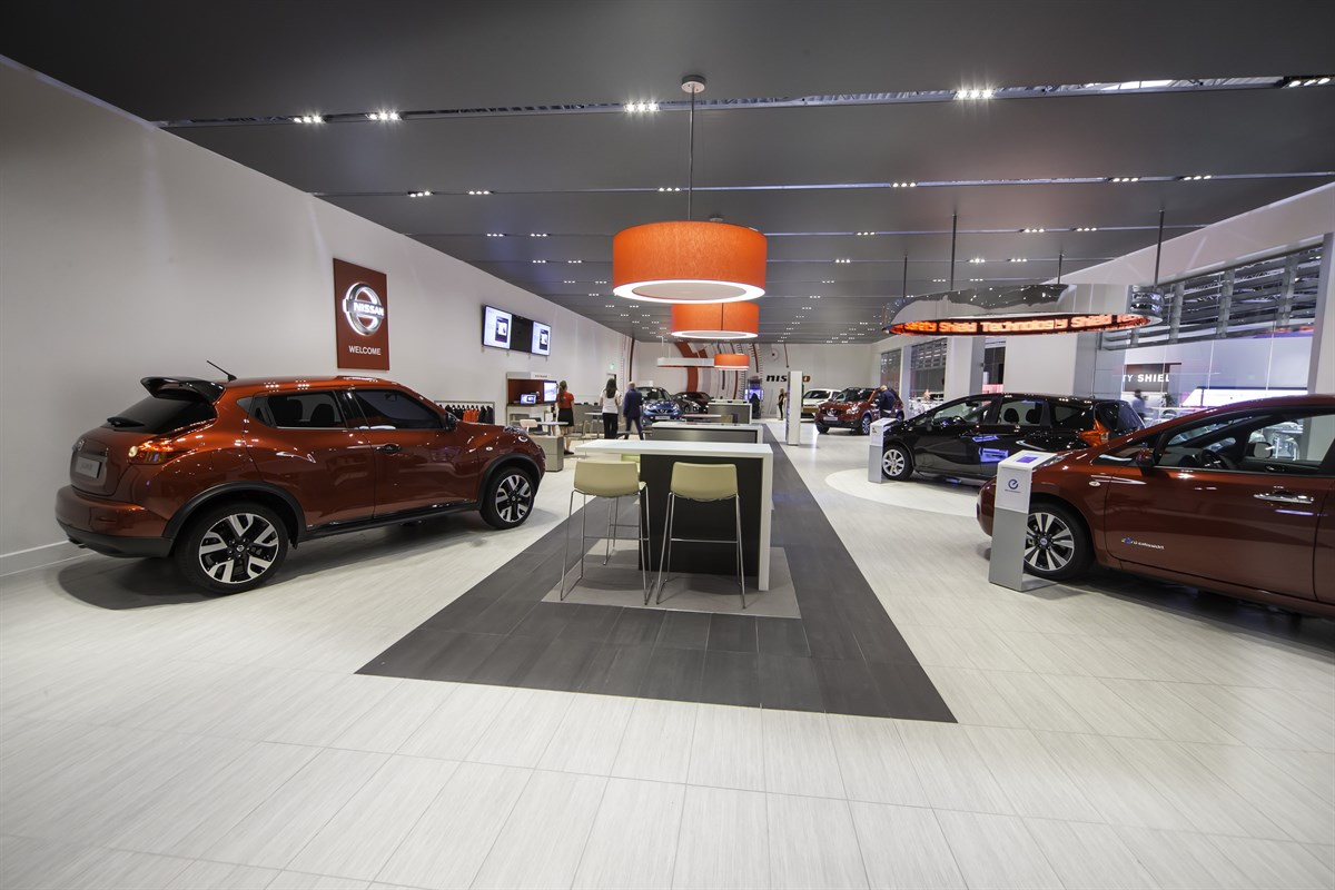 Nissan S New Showroom Concept To Be Piloted In Oxford Car Manufacturer News