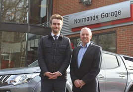 Normandy garage takes on mitsubishi franchise car dealer for Franchise ad garage