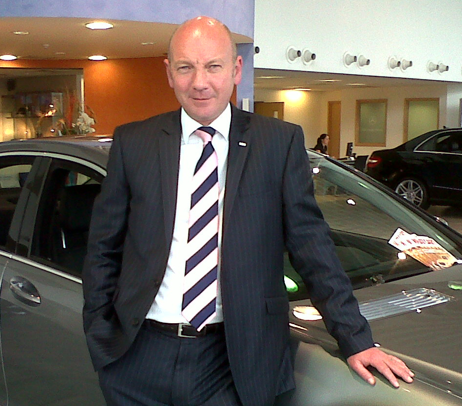 ridgeway appoints new mercedes benz general manager