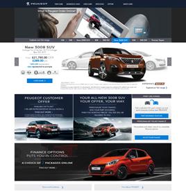 Order Online by Peugeot screengrab 2017