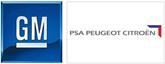 GM PSA logos