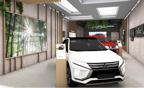 The first Mitsubishi Store at Intu Lakeside