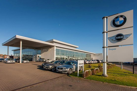 Soper BMW Lincoln has a break-even policy at auction