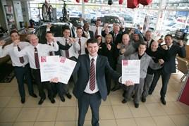 Darlington bristol street motors wins nissan customer for Nissan motors customer service
