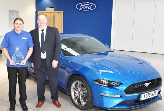 Bristol Street Motor James Stuart is Ford Apprentice of the Year