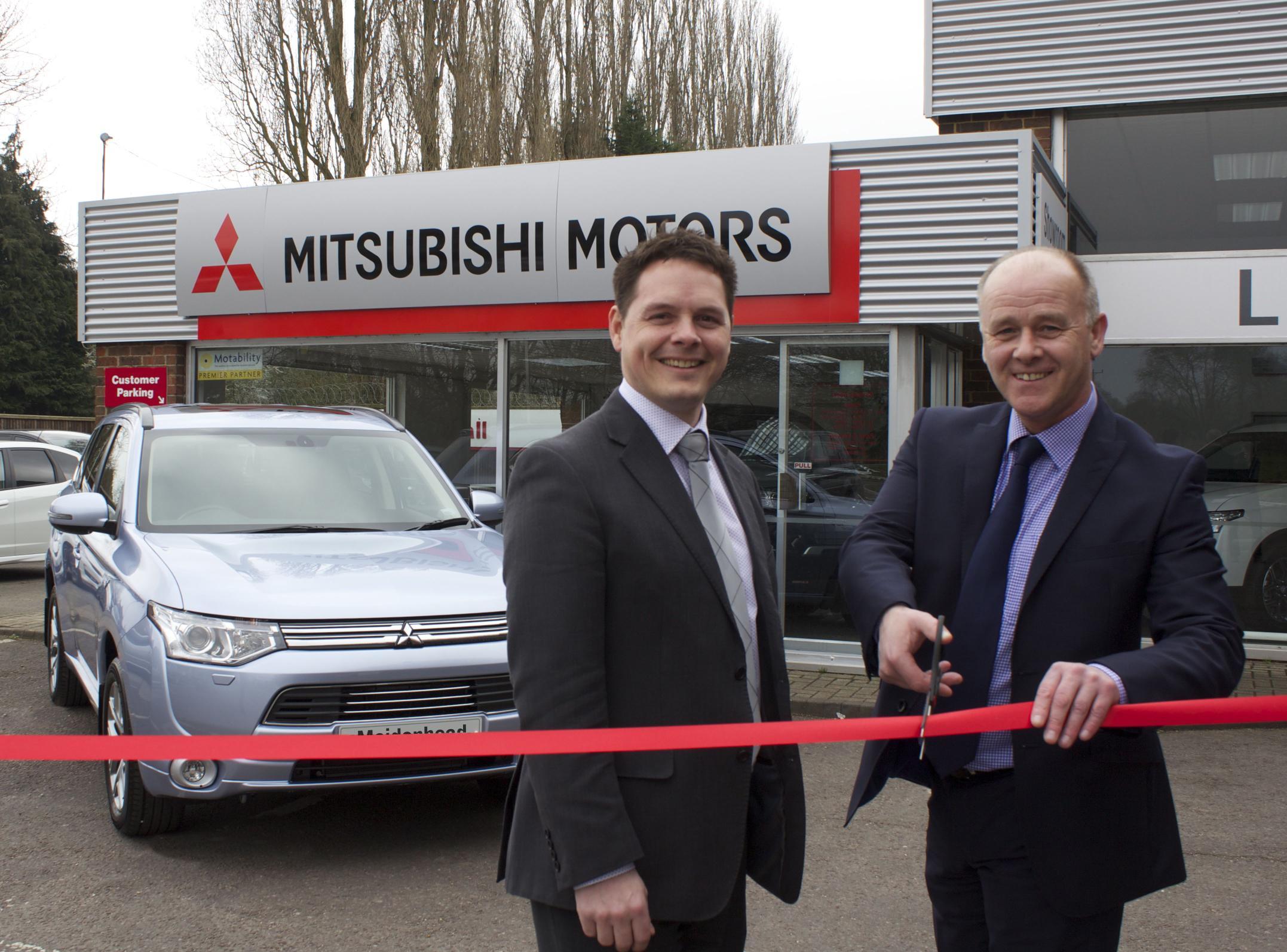 Littlewick Green Motor Company opens new Mitsubishi