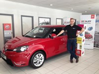Frasers of Falkirk opens new MG car dealership