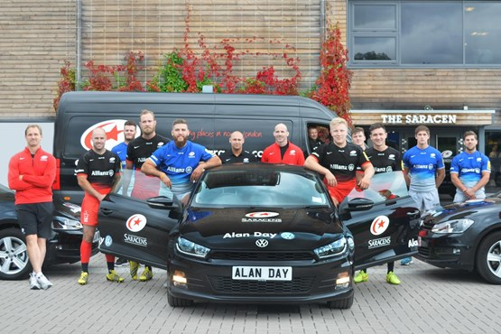 Alan Day Volkswagen Celebrates Title Double With Saracens