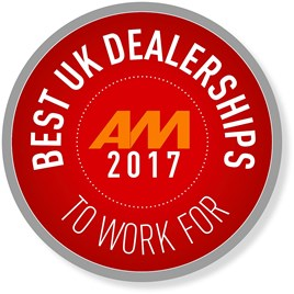 AM Best UK Dealerships to work for logo 2017