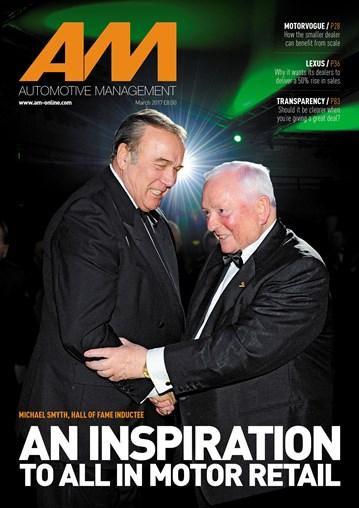 AM - Automotive Management magazine - cover March 2017