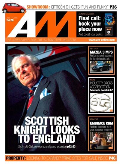 Sir Arnold Clark Cover AM June 2005