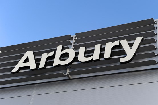 Arbury group sign